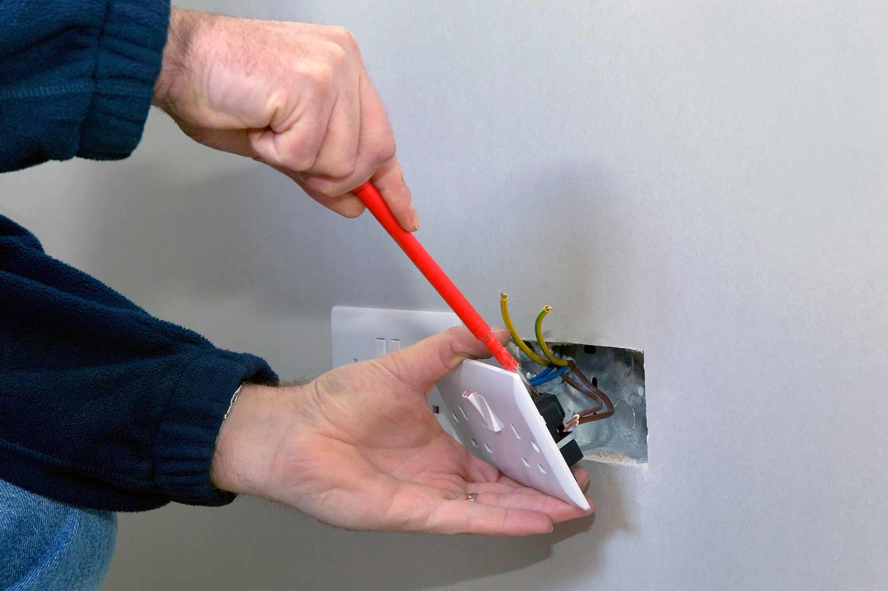 Our electricians can install plug sockets for domestic and commercial proeprties in Islington and the local area.